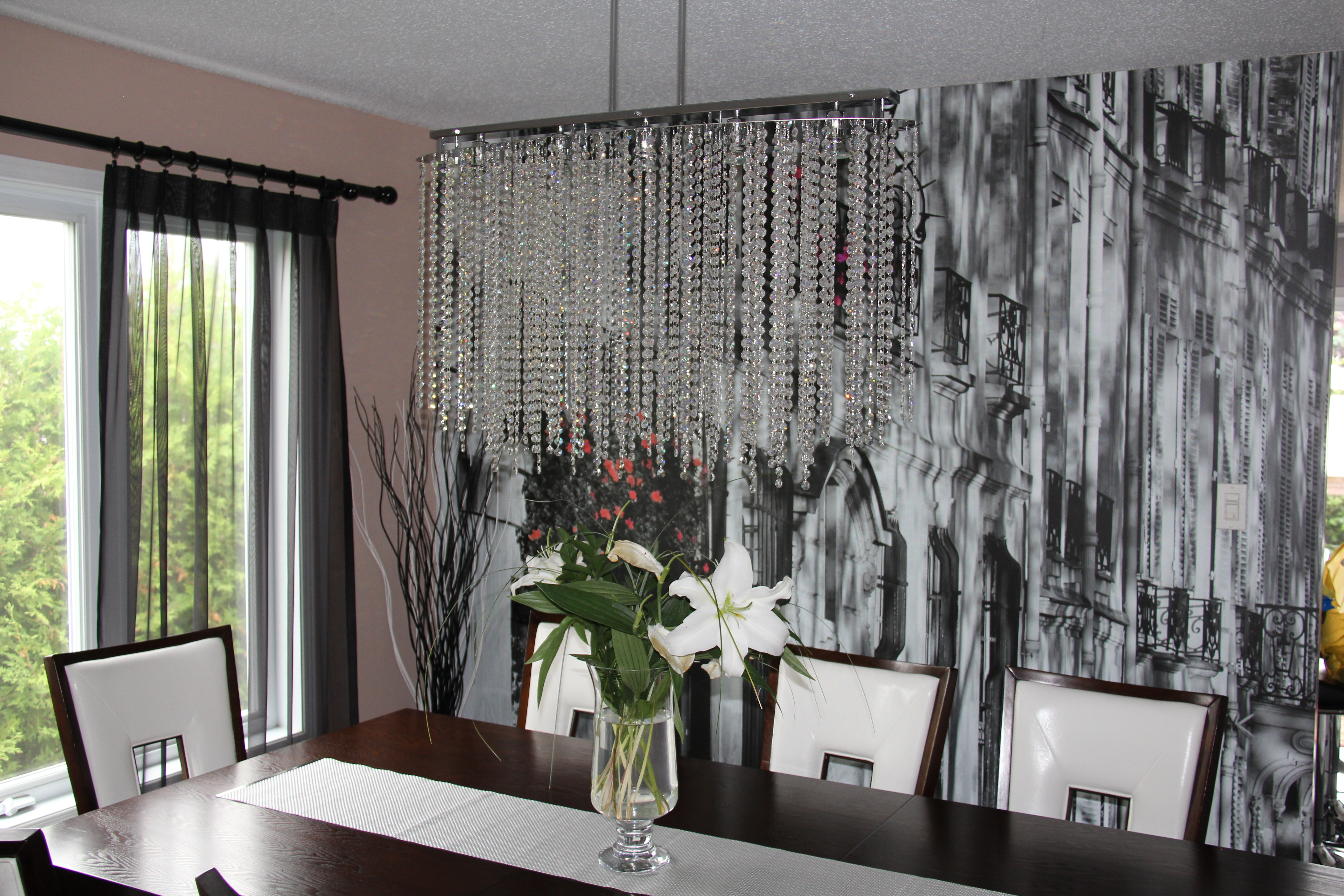 Wall Mural Dining Room